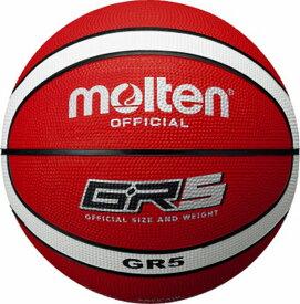 モルテン(molten) ゴムバスケットボール5号球 GR5 BGR5-RW