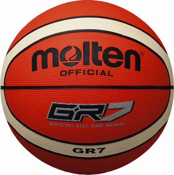 モルテン(molten) ゴムバスケットボール7号球 GR7 BGR7-OI