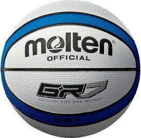 モルテン(molten) ゴムバスケットボール7号球 GR7 BGR7-WB