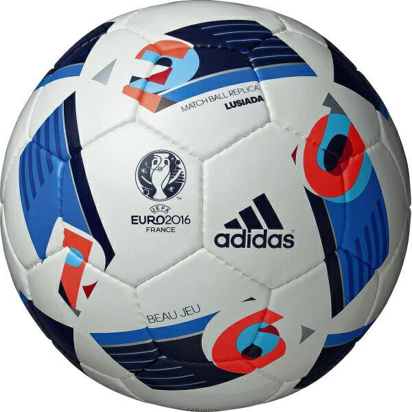 【adidas】アディダス 『 BEAU JEU 』 ( ボー ジュ ) ルシアーダ 5号球 [サッカーボール]