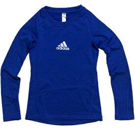 [ 10%OFF ]【adidas】アディダス ALPHASKIN ロングスリーブシャツ クライマウォーム キッズ ( 裏起毛付 ) [ インナーシャツ ]