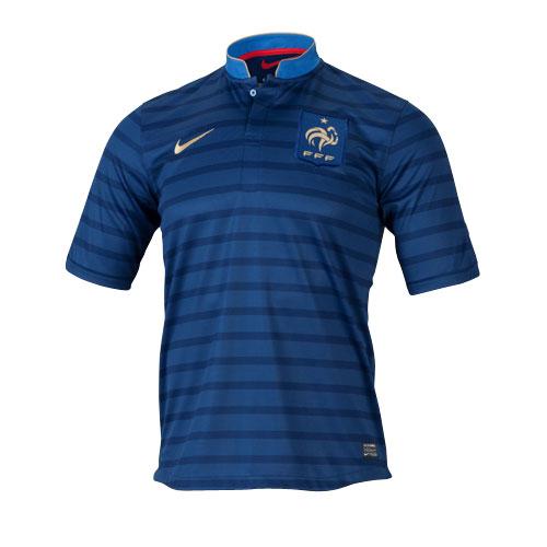 【NIKE】ナイキ ボーイズ FFF S/S HOME レプリカ ゲームシャツ フランス代表