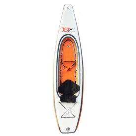 Jet Ocean Sport 【TOUR KAYAK 330】 ORANGE オレンジ/白 インフレータブルカヤック パドル付きフルセット 折りたためて専用バックに入ります 正規品