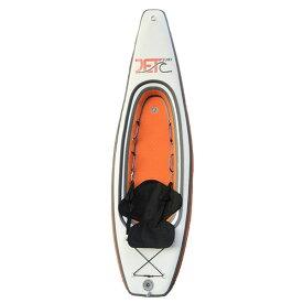 Jet Ocean Sport 【SURF KAYAK 270】 ORANGE オレンジ/白 インフレータブルカヤック パドル付きフルセット 折りたためて専用バックに入ります 正規品