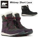 【送料無料】【あす楽】 Sorel ソレル レディース Whitney Shortlace ウィットニーショートレース NL2776 スノーブー…