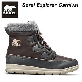 【送料無料】【あす楽】 Sorel ソレル レディース Sorel Explorer Carnival ソレルエクスプローラーカーニバル NL3421 スノーブーツ・ウインターブーツ