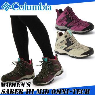 Columbia Colombia WOMEN'S SABER III MID OMNI-TECH women's saber 3 midomnitek YL5259