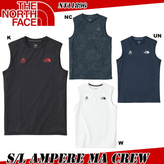 THE NORTH FACE the North Face S/L Ampere MA Crew sleeveless ampere MA crew (men's) NT11896