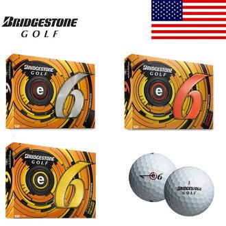 Bridgestone e6 golf balls 1 dozen 12 ball enters