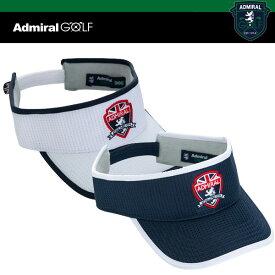 アドミラル ゴルフ メンズ エンブレム バイザー ADMB 915F