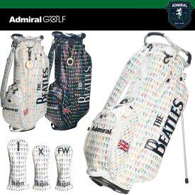 アドミラル ゴルフ スタンド キャディバッグ ADMG 7SC5 +ヘッドカバー(DR、FW)
