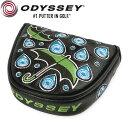 Odyssey Make It Rain 限定 本革 パターカバー (マレット用) / オデッセイ メイクイットレイン USAモデル
