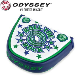 Odyssey Roll The Rock 限定 本革 パターカバー (マレット用) / オデッセイ ロールザロック USAモデル