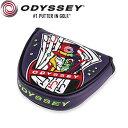 Odyssey No3 Jacks 限定 本革 パターカバー (マレット用) / オデッセイ ナンバー3 ジャックス USAモデル