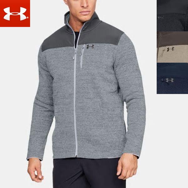 UNDER ARMOUR コールドギア ジャケット メンズ フルジップ (ジップアップ) スペシャリスト2.0 長袖 1316264 UNDERARMOURUA Specialist 2.0 Men's Long Sleeve Shirt Jacket