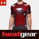 UNDER ARMOUR ヒートギア アーマー コンプレッション 半袖 メンズ Tシャツ オルターエゴ 1273694 メンズ Tシャツ (アイアンマン / アベンジャーズ インフィニティウォー) U