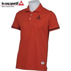 ルコック ゴルフウェア メンズ 半袖 ポロシャツ QG1504 R453 バルドー 18sspz / るこっく ごるふ うぇあ