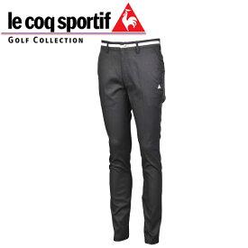ルコック ゴルフウェア メンズ ロング ストレッチ パンツ QGMOJD00 BK00 ブラック / 19fwpz / るこっく ごるふ うぇあ