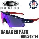 OAKLEY TEAM USA RADAR EV PATH OO9208-14 (オークリー チームUSA レーダーEVパス サングラス) ポジティブ レッド イリジウム / ダーク ブルー