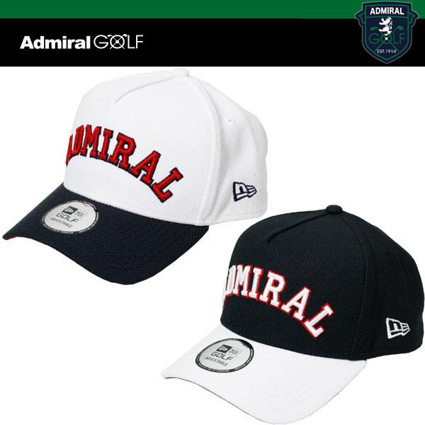 ADMIRAL GOLF x NEW ERA コラボ ゴルフ キャップ ADMB721F アドミラル ニューエラ