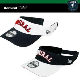 ADMIRAL GOLF x NEW ERA コラボ ゴルフ バイザー ADMB722F アドミラル ニューエラ