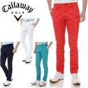 CALLAWAY APPAREL ゴルフ サマーアイコン ジャカード スリムテーパード パンツ 7120508 キャロウェイ アパレル ゴルフウェア