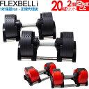 フレックスベル i flexbell i 20kg 2個 セット   トレーニング ウエイトトレーニング ウェイトトレーニング 筋トレ グ…