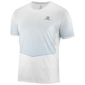 SALOMON サロモン トレイルランニング 半袖Tシャツ SENSE TEE M LC1045900 WHITE