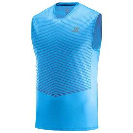 SALOMON サロモン トレイルランニング ノースリーブTシャツ タンクトップシャツ SENSE TANK M LC1046800 メンズ