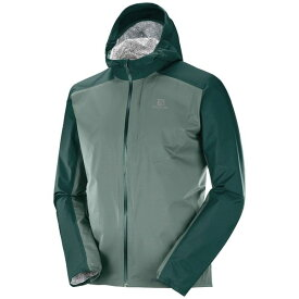SALOMON サロモン トレイルランニング レインジャケット メンズ BONATTI WP JKT M LC1162600 GREEN GABLES/BALSAM GREEN