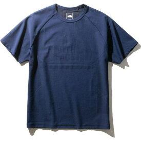 THE NORTH FACE ザ・ノース・フェイス ランニング Tシャツ 半袖 S/S Engineered Spiral Crew NT12072 メンズ ブルーウィングティール