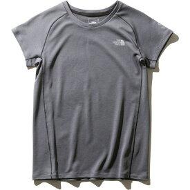 THE NORTH FACE ザ・ノース・フェイス ランニング Tシャツ 半袖 ショートスリーブエンデューロクルー NTW61972 レディース ミックスチャコール