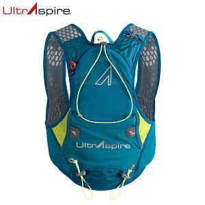 UltrAspire ウルトラスパイア バックパック トレイルランニングベスト アルファ ALPHA 4.0 エメラルドブルー/ライム