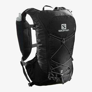 SALOMON サロモン トレイルランニング ベスト バックパック AGILE 12 SET LC1305100 BLACK