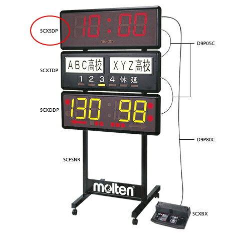 molten モルテン スタンダード表示盤 SCXSDP スポーツカウンター 電光掲示板