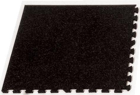 リサイクルエコマット ジョイント式エコマット 黒1枚 CM-100 Cタイプ コーナー