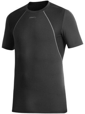 CRAFT クラフト クール 半袖シャツ コンセプトピース Concept Piece メンズ 1901381 ブラック<店頭在庫限り>