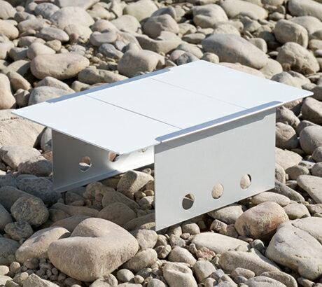 ダンロップ DUNLOP 組み立て式コンパクトテーブル BHS101 樹脂天板