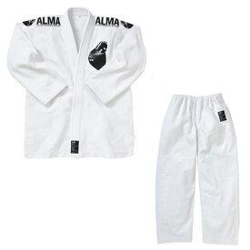 マーシャルワールド ALMA アルマ レギュラーキモノ国産柔術着 JU1 M00 白 上下セット