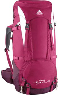 VAUDE VAUDE Simon 55 + 10 female-friendly backpack / Sangria red wine