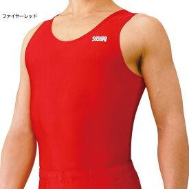 SASAKI ササキスポーツ 体操 ジムシャツ #600 ファイヤーレッドFIR