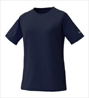 プロモンテ PuroMonte トリプルドライカラット半袖Tシャツ ウィメンズ レディース TN147W ネイビー <店頭在庫限り>