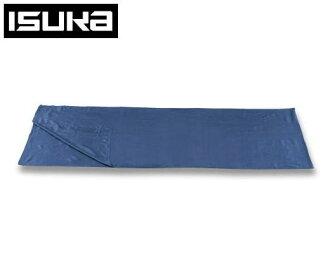 ISUKA ISCA sleeping bag sheet liners silk sheets recta 212121 navyblue < stock >