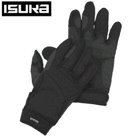 ISUKA イスカ ウェザーテック トレッキンググローブ手袋 サイズ S 2301 01 ブラック