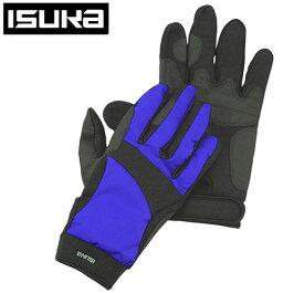 ISUKA イスカ ウェザーテック トレッキンググローブ手袋 サイズ S 2301 12 ロイヤルブルー