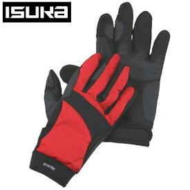 ISUKA イスカ ウェザーテック トレッキンググローブ手袋 サイズ M 2302 19 レッド