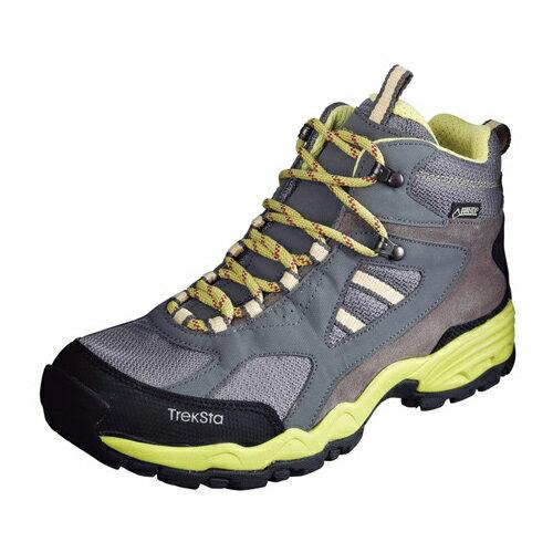 TrekSta トレクスタ FP-0401MID GTXライト EBK166 トレッキングシューズ 登山靴 レディース チャコール/LM