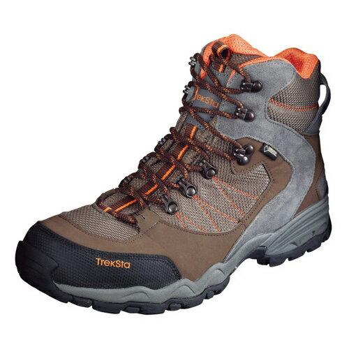 TrekSta トレクスタ FP-0504 HI GTXライト EBK167 トレッキングシューズ 登山靴 メンズ ブラウン/オレンジ<在庫僅少>