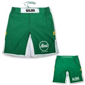 ALMA アルマ 柔術・総合格闘技パンツ キングオブキングス ALP1 Lサイズ グリーン