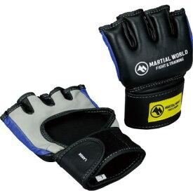 マーシャルワールド 総合格闘技 オープンフィンガーグローブ コンテンダー OF-MMA1 Lサイズ ブルー